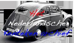 Het Nederlandsche kenteken archief